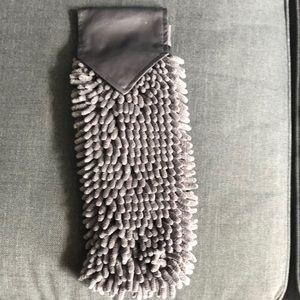 Norwex Chenille Hand Towel Graphite